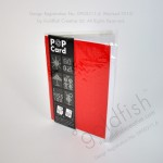 Red cover- White inner sheetRed cover- White inner sheet